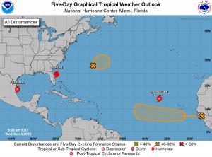 Atlantic Five-Day Tropical Outlook | September 4, 2019