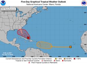 5-Day Tropical Outlook | September 12, 2019, 8am ET