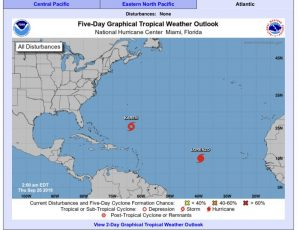 5-Day Tropical Outlook | September 26, 2019, 2am ET