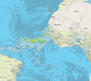 West African Coast Satellite Imagery | August 2, 2021