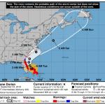 Dorian Forecast Track | September 3, 2019, 8am ET