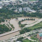 Flooding in Houston due to Hurricane Harvey