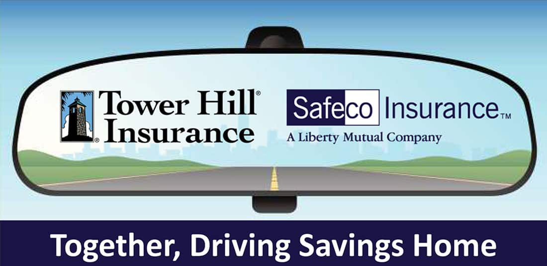Tower Hill and Safeco | Together, Driving Savings Home