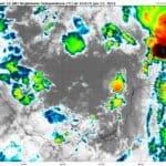 GOES-16 Channel 13 (IR) Brightness Temperature | June 17, 2021