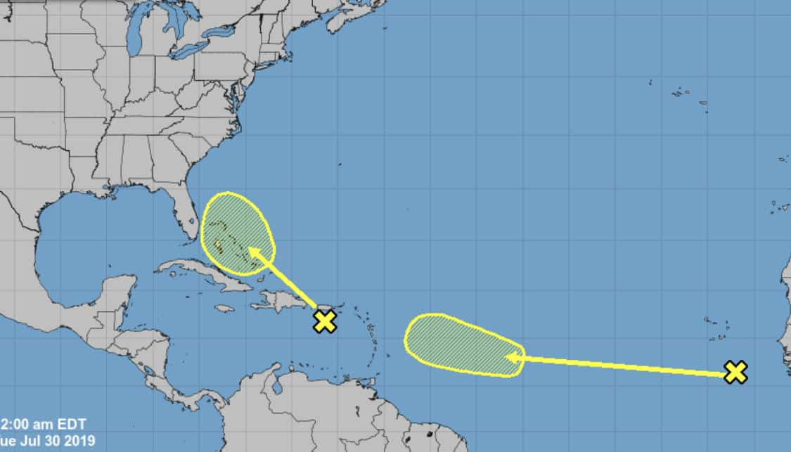 Tropical Waves | July 30, 2019